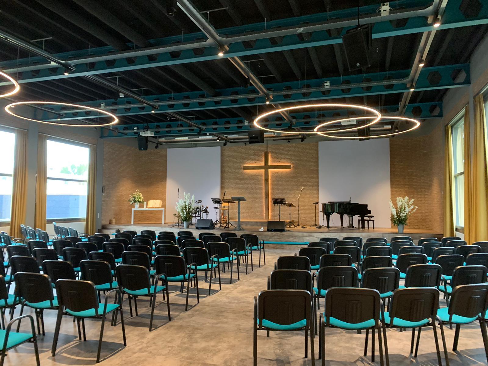 Verbouwing kerk Haarlem